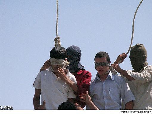 Teenage homosexuals executed in Iran