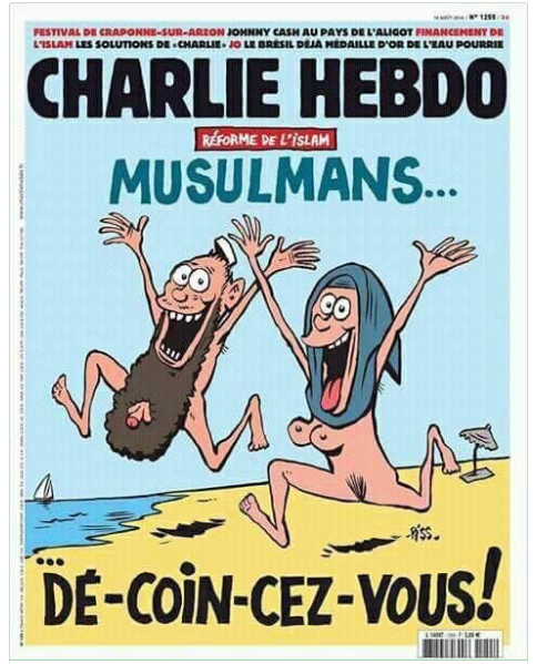 Charlie hebdo - naked muslims