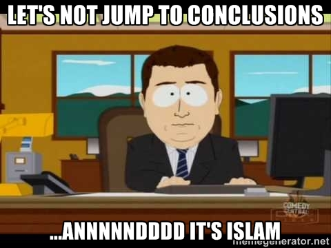 And it's islam