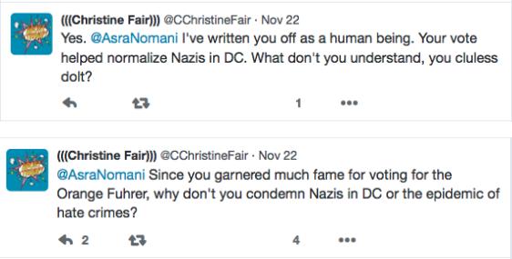 Christine Fair - Psycho bitch