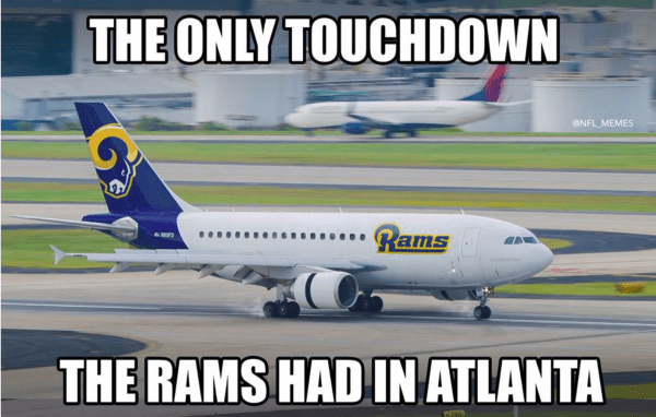 Rams get slaughtered