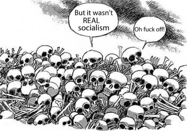 Not real socialism
