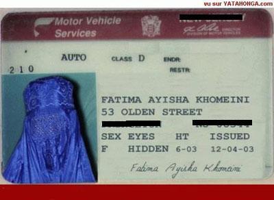 Muslim Woman ID
