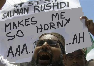 Horny for Rushdie