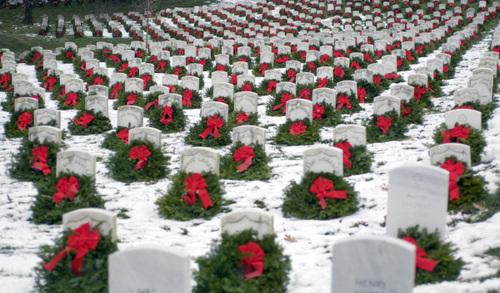 Christmas at Arlington National Cemetery