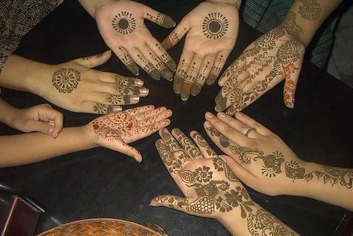 Best Pakistani Mehndi Tattoo Designs